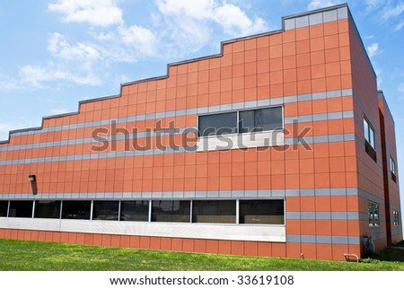 Step Building - stock photo