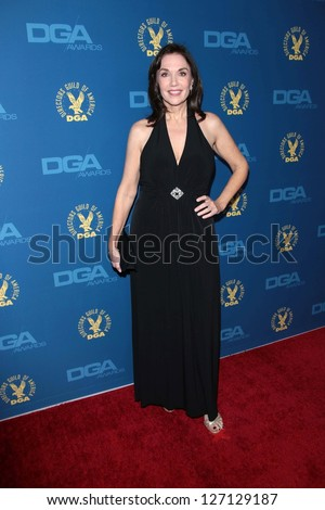Stepfanie Kramer at the 65th Annual Directors Guild Of America Awards Arrivals, Dolby Theater, Hollywood, CA 02-02-13