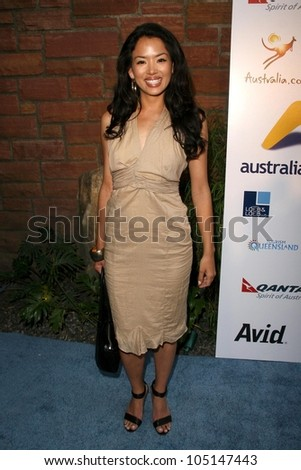 Stephanie Jacobsen  at the Australians In Film 2009 Breakthrough Awards. Hollywood Roosevelt Hotel, Hollywood, CA. 05-08-09