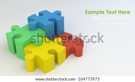Stepping Jigsaw puzzle