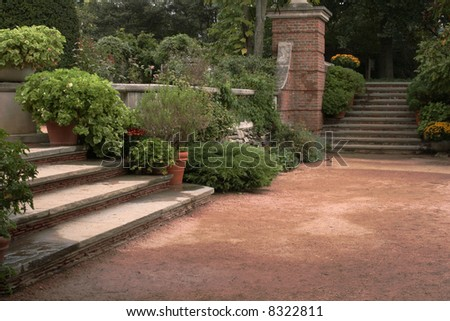 Steps to English Garden