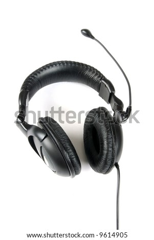 stereo headphones with a microphone
