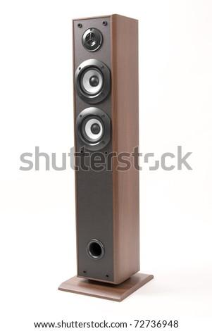 stereophonic loudspeaker - stock photo