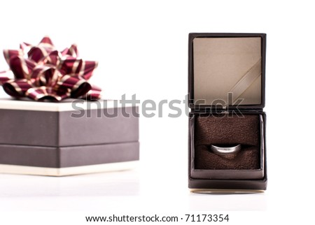 Sterling Silver Gift for Her - stock photo