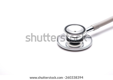 Stethoscope. Medical concept - stock photo