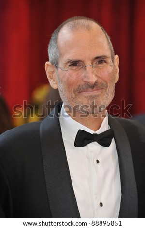 Steve Jobs at the 82nd Annual Academy Awards at the Kodak Theatre, Hollywood. March 7, 2010  Los Angeles, CA Picture: Paul Smith / Featureflash - stock photo