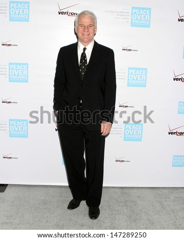 Steve Martin at the Los Angeles Commission on Assaults Against Women Beverly Hills Hotel Los Angeles, CA October 27, 2006 - stock photo