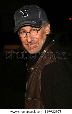 "Steven Spielberg at the premiere of ""Flags of Our Fathers"". Academy of Motion Picture Arts and Sciences, Beverly Hills, CA. 10-09-06"