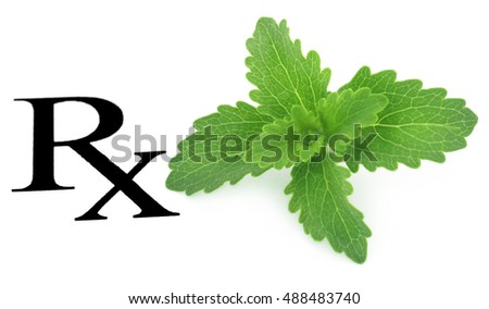 Stevia leaves prescribed as medicine