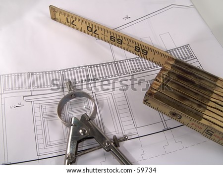 Stick Ruler and Drafting Items