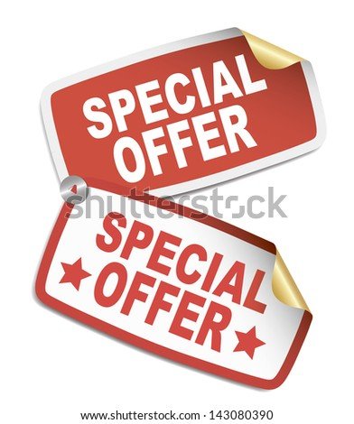 Stickers - Special offer
