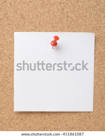 Sticky notes stuck with marker