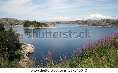 Still Lake in Norway