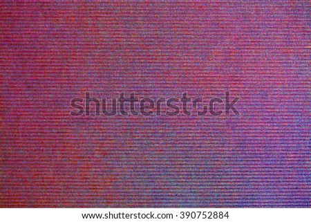Still life close up detail of a blue red textured natural piece of paper with gradient, thick cardboard background texture. Full frame blank page color canvas, paper objects, multicolor backdrop. - stock photo