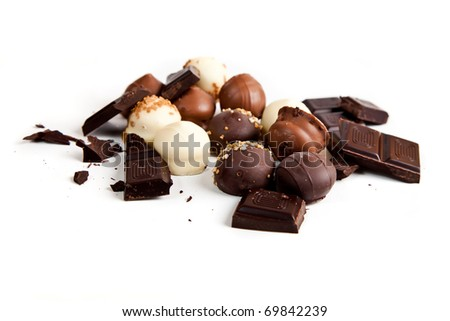 Still life: Delicious Chocolate - stock photo