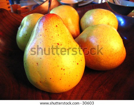 Still Life of Fruits - stock photo