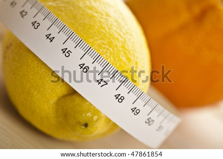 Still life of lemon