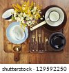 Still life of old vintage utensil - stock photo