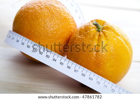 Still life of orange
