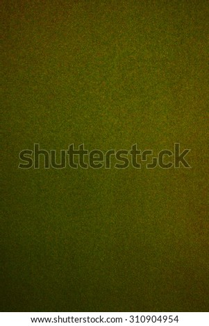 Still life paper texture background with grain noise effect, full frame. Close up detail of a textured sheet of paper blank page with multicolor green and yellow grain art paper. Background color. - stock photo
