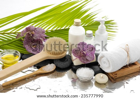 Still life ,Spa setting Background
