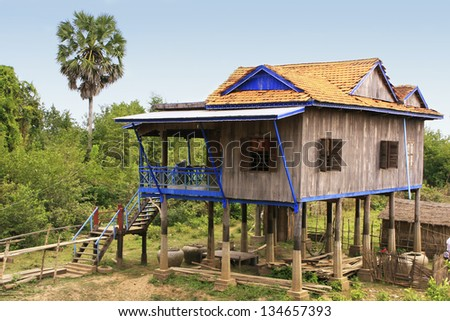 Houses On Stilts Stock Images Royalty Free Images