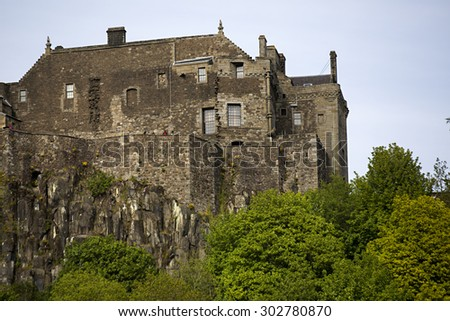 Stirling Castle - stock photo