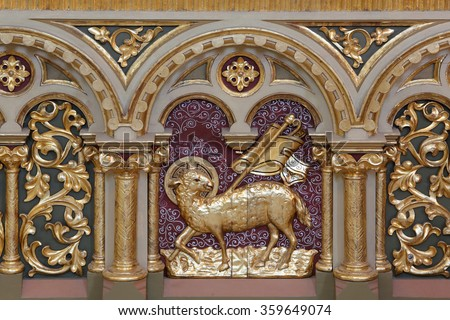 Church Decoration Stock Images Royalty Free Vectors
