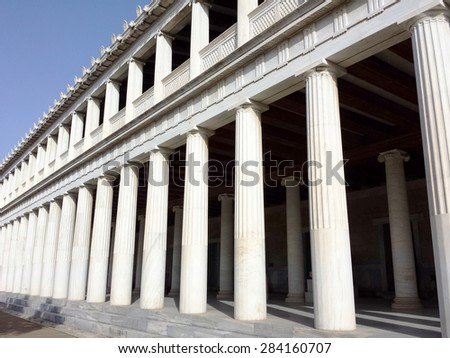 Stoa of Attalos, Athens,Greece
