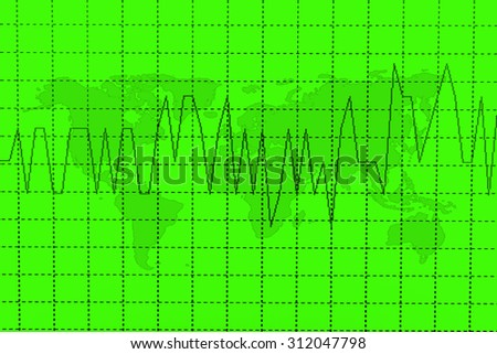 Stock exchange chart graph. Finance business background. - stock photo