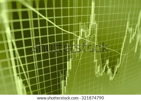 Stock exchange graph screen finance data analysis illustration risk background trade technology financial screen market nasdaq report forecast price analyzing invest goal graphic number planning  - stock photo