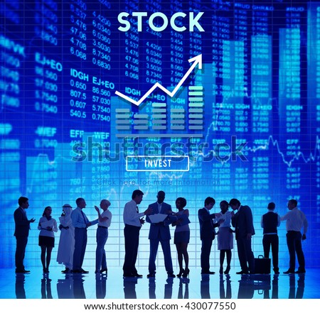 Stock Finance Business Banking Forex Money Concept - stock photo