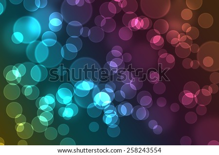 Stock image of a bokeh background