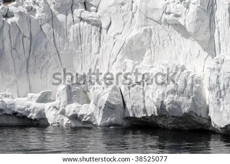 Stock image of Antarctic ice shelf - stock photo