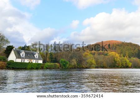 Stock image of Loch Lomond, Scotland  - stock photo