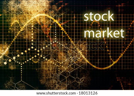 Stock Market Abstract Business Concept Wallpaper Background