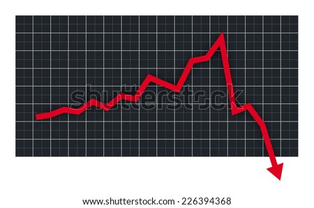 Stock market crash chart
