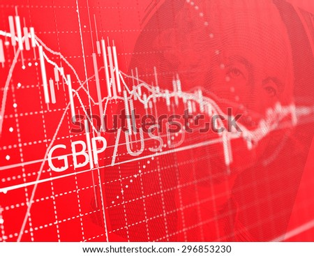 Stock Market Graph and Bar Chart Business background. Market Analyze.Bar graphs, diagrams, financial figures. Forex. - stock photo