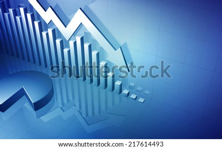 Stock Market Graph Arrow