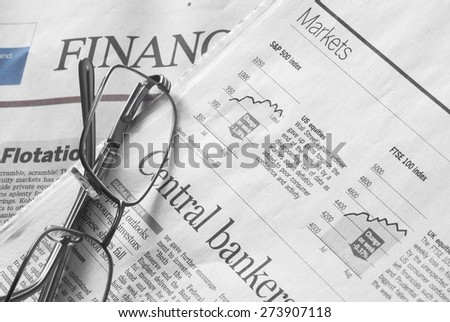 Stock Markets Newspapers. Analysis of the stock market.