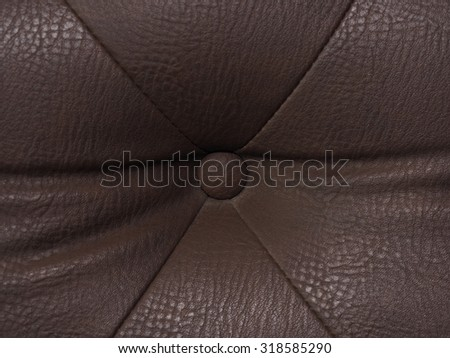Stock Photo : Leather car seat, leather background, furniture leather