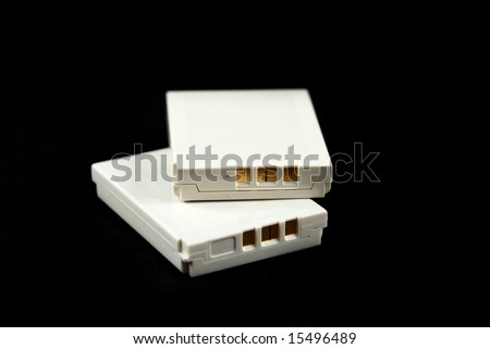 stock pictures of flat batteries from consumer products