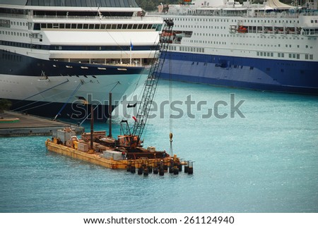 stock pictures of vessels and cruises - stock photo
