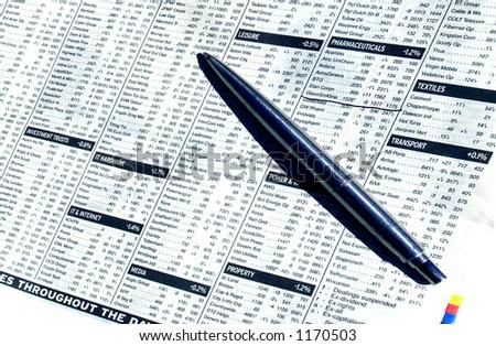 Stocks & Shares - stock photo