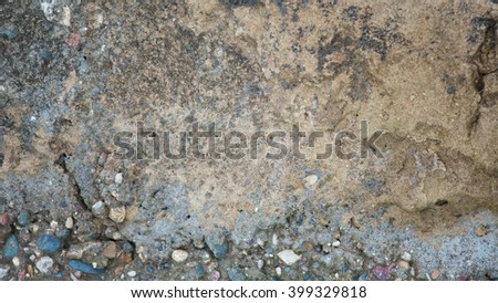 stone background texture of the old stucco house