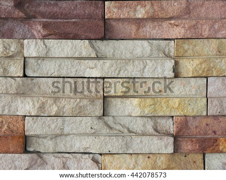 Stone Brick and Wall Background