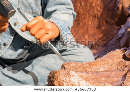 Stone carver, Tools for stone carving