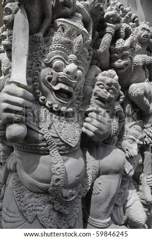 Stone Carving in Bali