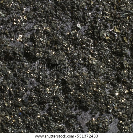 Stone Cristal Metallic textures. Backgrounds. Gold silver