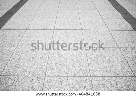 Stone floor pavement useful as a background - stock photo